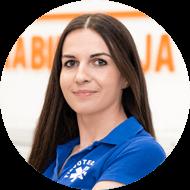 Katarzyna Piekut zdjęcie kobiety specjalisty OLMED